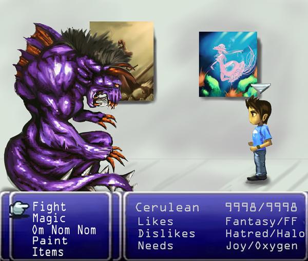 Random Encounter- ID by CeruleanRaven