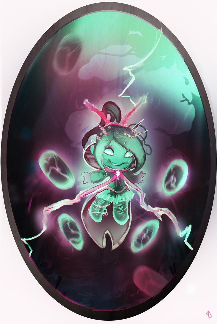 Disney Elementals Vanellope by CeruleanRaven