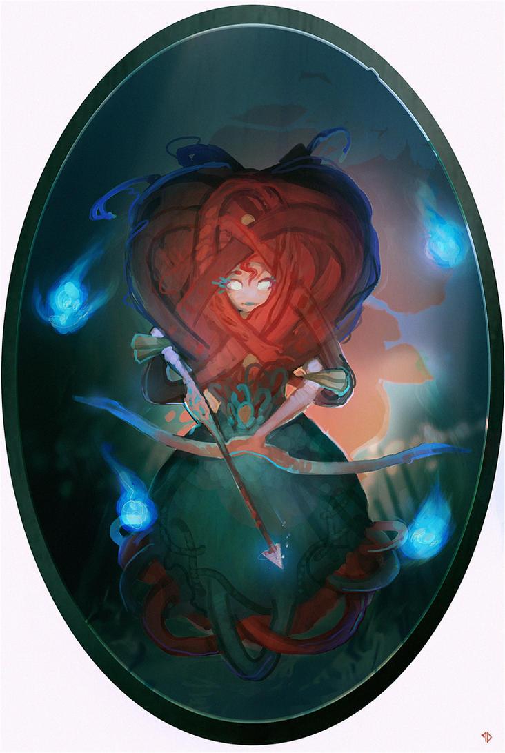 Disney Elementals Merida by CeruleanRaven