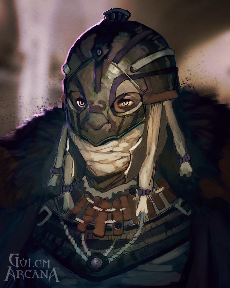 Mercenary King Urugal Knight by CeruleanRaven