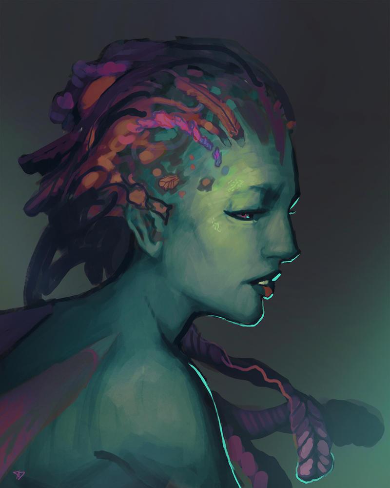 Mermaid by CeruleanRaven