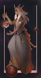 Planet Goddess by CeruleanRaven