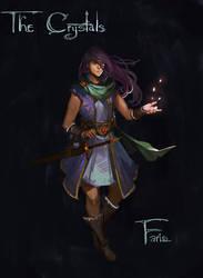 Fire - Faris by CeruleanRaven
