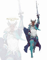 FFXIV Friends CR by CeruleanRaven