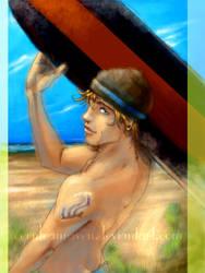 :My Surfer Boy: by CeruleanRaven