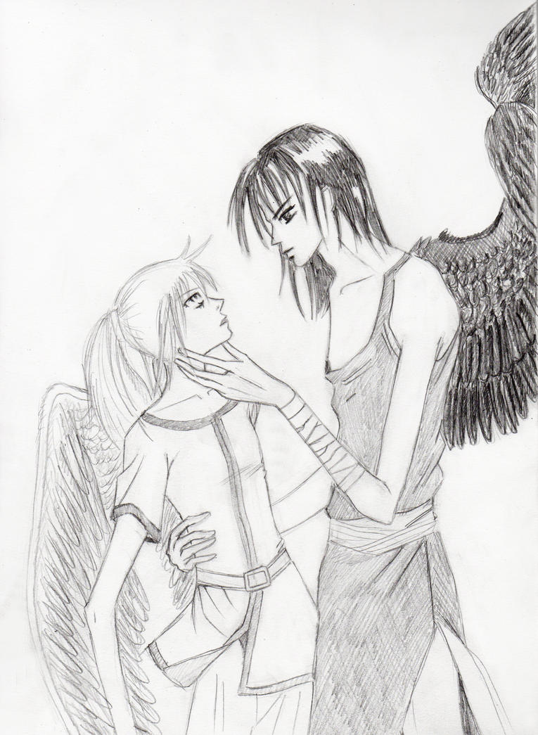 Angel and Demon by urban-jah on DeviantArt