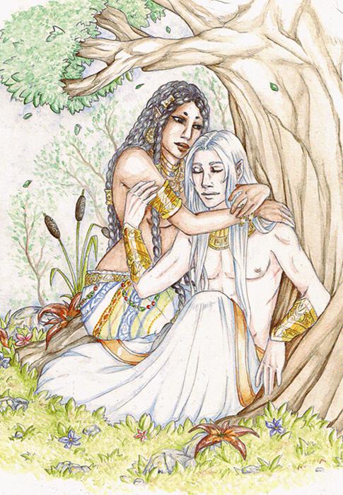 Noor and Brunilla by Armide
