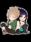 Toshiro + Akane [Chibi]