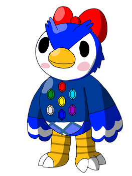 Animal Crossing style owl