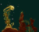Eagle nebula, pixelized by Pandasquid