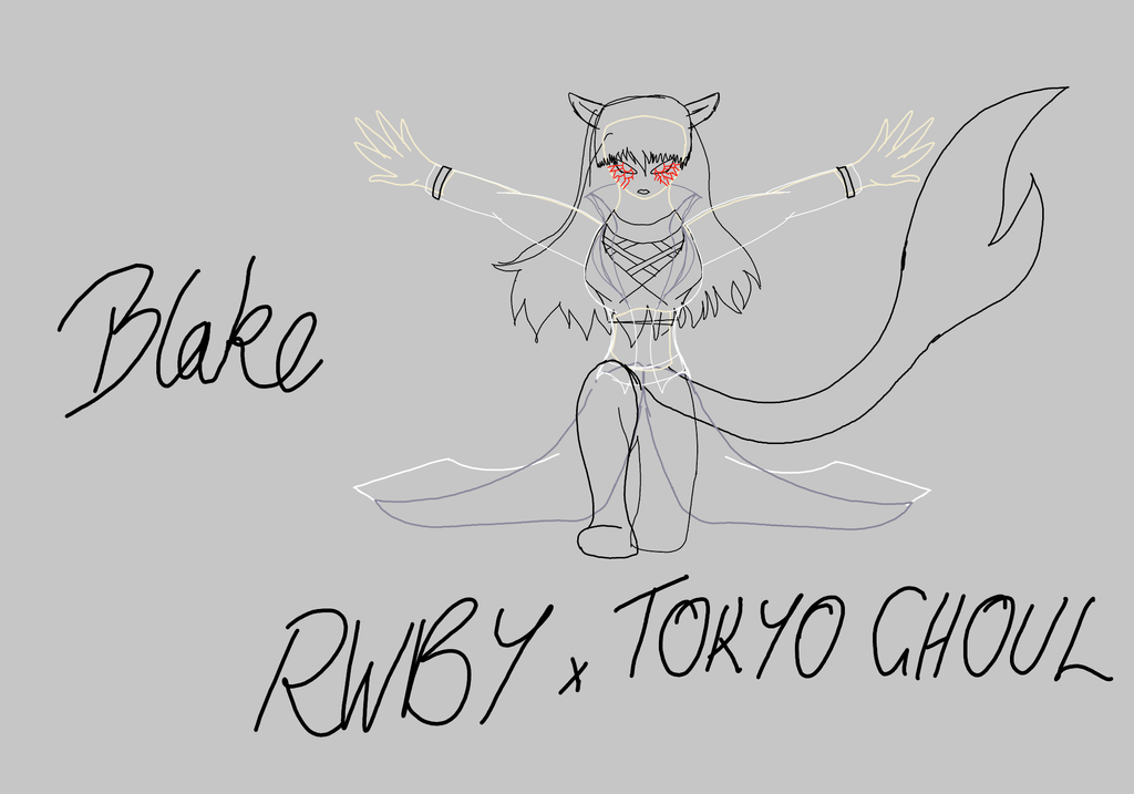 RWBY x Tokyo Ghoul 3 WIP by FightStorm