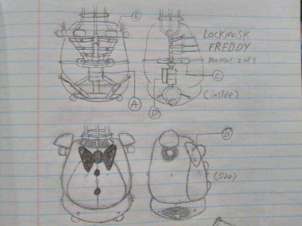 Lockmask freddy blueprint 2 of 3 by springtrap mask on deviantart lockmask freddy blueprint 2 of 3 by springtrap mask malvernweather Gallery