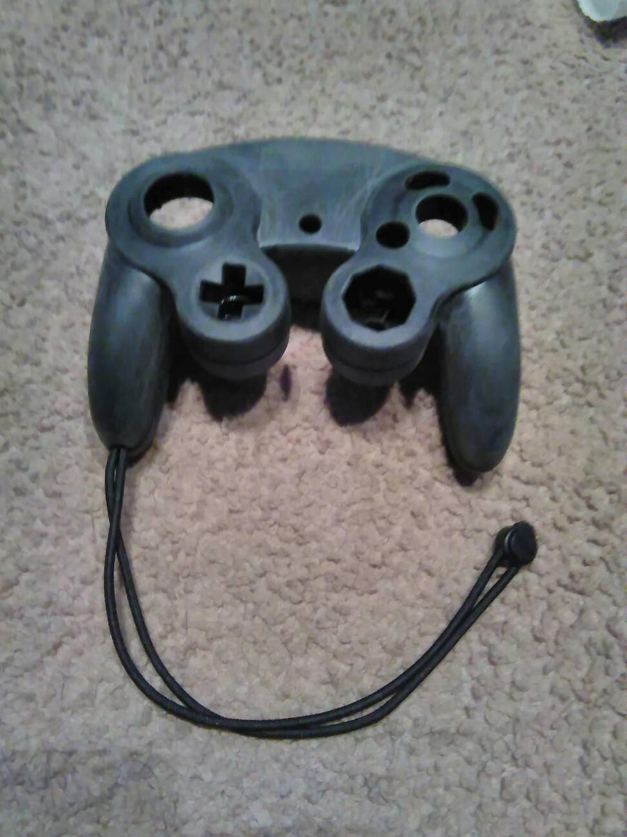 custom GameCube controller (update) by SpringtraP-MasK on