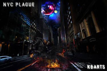 New York City Plague (Black Death 2) by K8ArtStudio