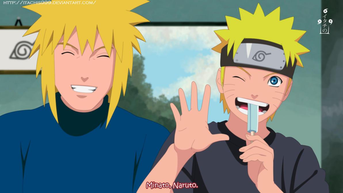 Minato and Naruto by Itachis999
