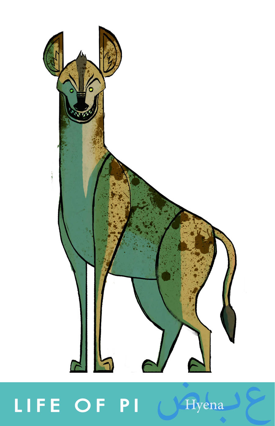 Life of pi hyena by yebkamin on deviantart for Life of pi characters animals