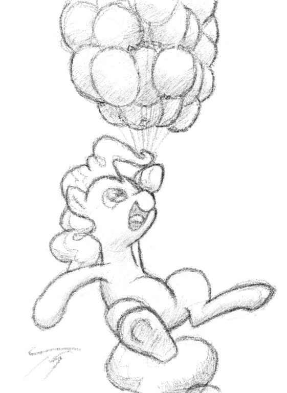Pink Bloons by TopGull