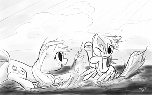 At the Beach by TopGull