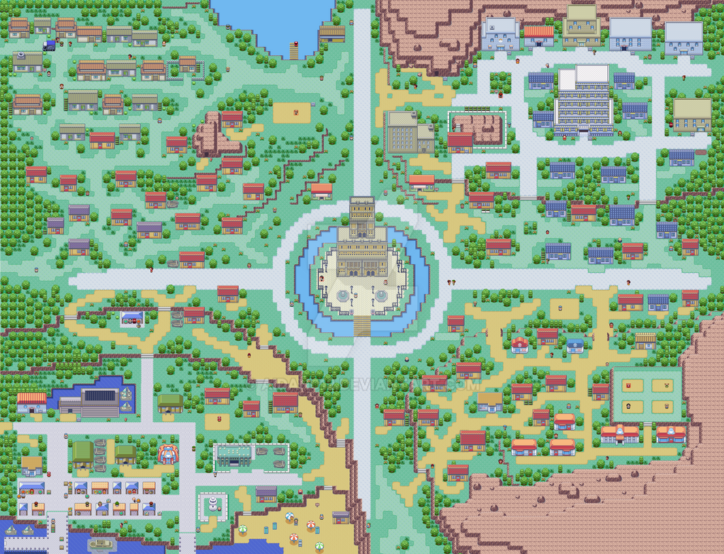Pokemon Firered Map by aidan012 on DeviantArt on sapphire map, sinnoh map, blue safari zone map, fire zone map, game of thrones dragonstone map, auburn university map,