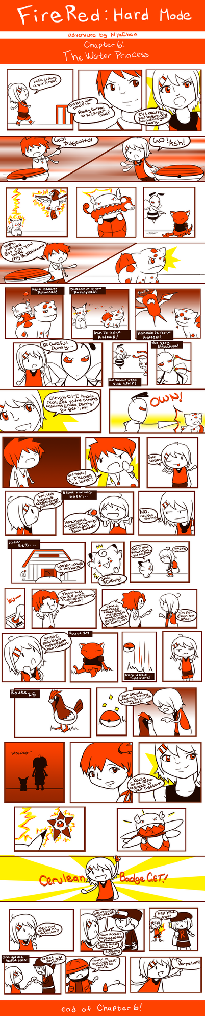 FireRed: Chapter 6 by RitsuBel