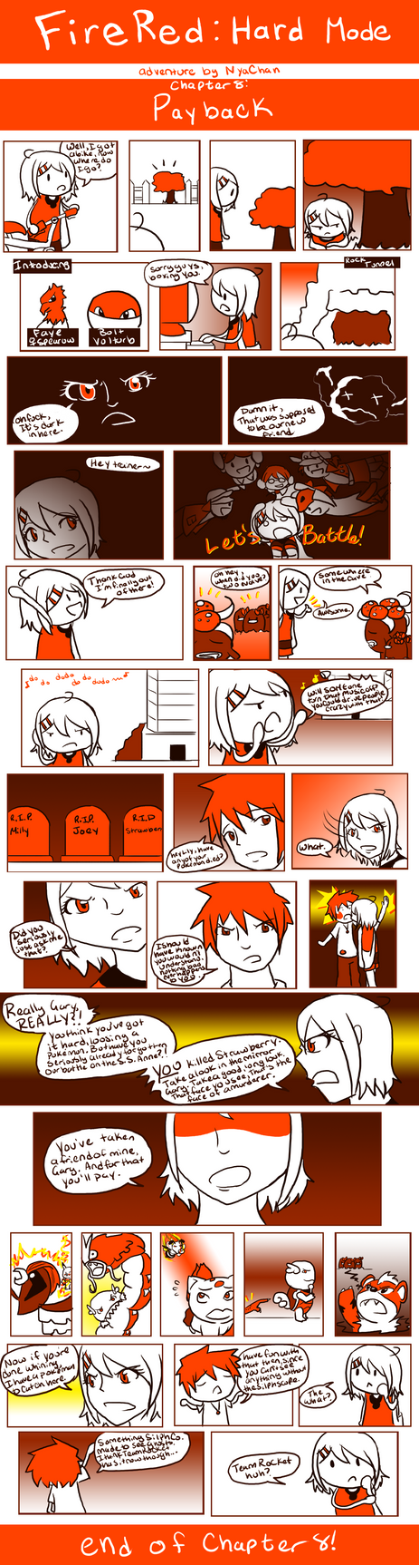 FireRed: Chapter 8 by RitsuBel
