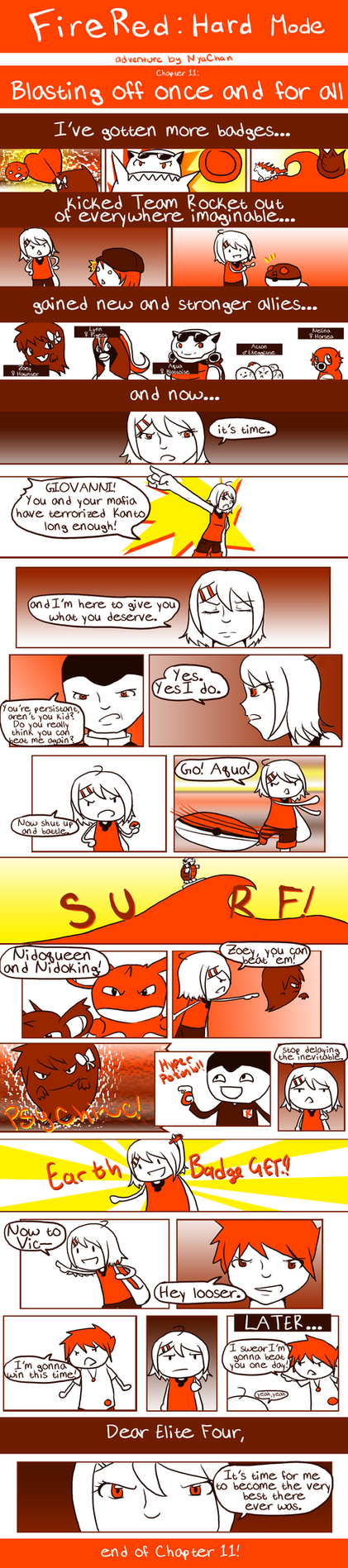 FireRed: Chapter 11 by RitsuBel