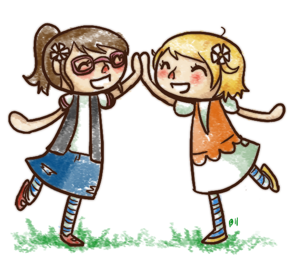 Animal Crossing: High Five By RitsuBel On DeviantArt