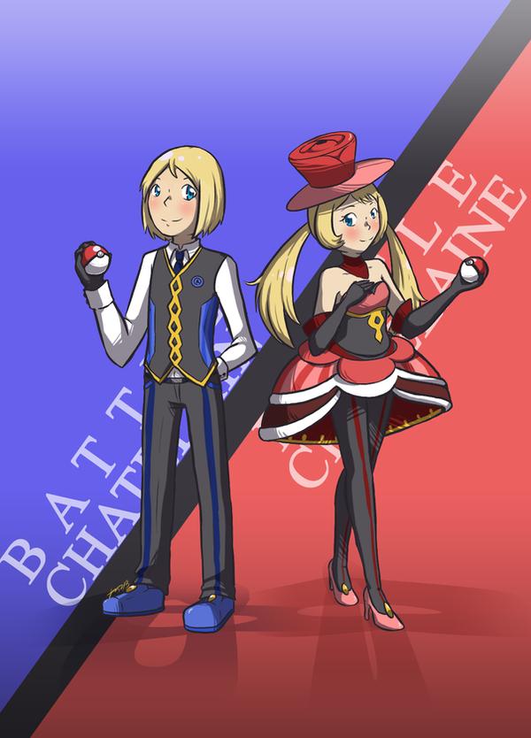 [pkmn] Multi Battle Chatelain(e)s by RitsuBel