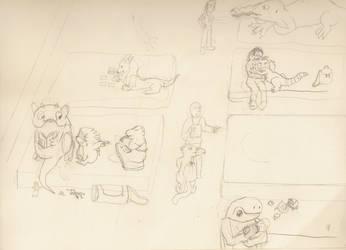 Relief Center Sketch 1 by shadowstein