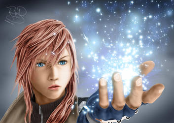 Lightning - Dissidia 012 by SerenaKaori87
