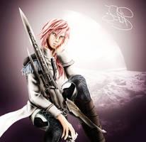 Lightning Fanart by SerenaKaori87