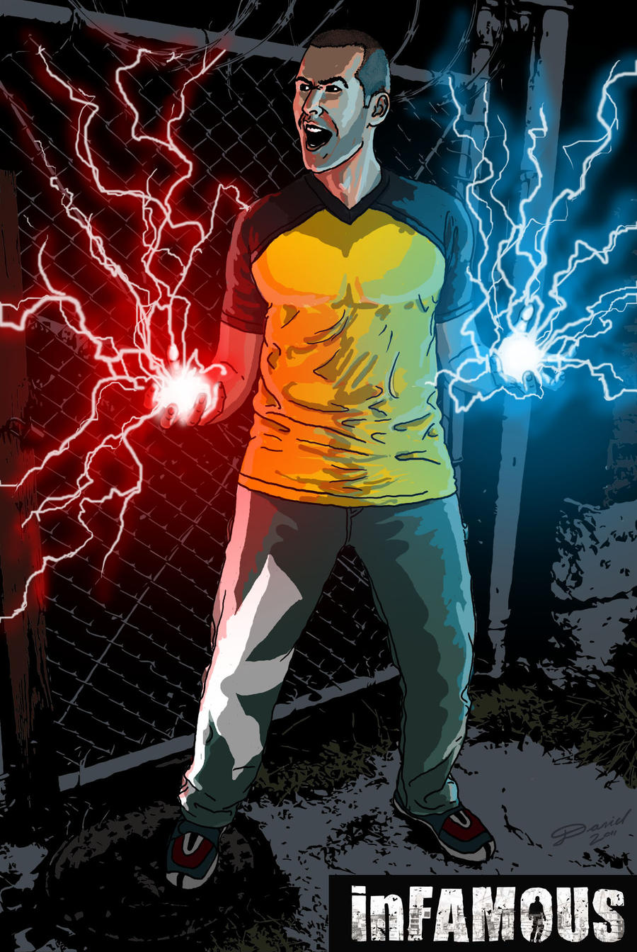 Infamous Wallpaper Hd Cole - inFAMOUS by poi...