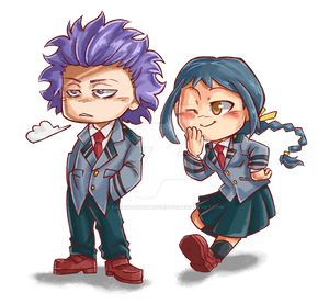Hitoshi and Koe by KarasuTenguProyectos