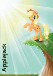 Applejackrgb by SugarcubeCake