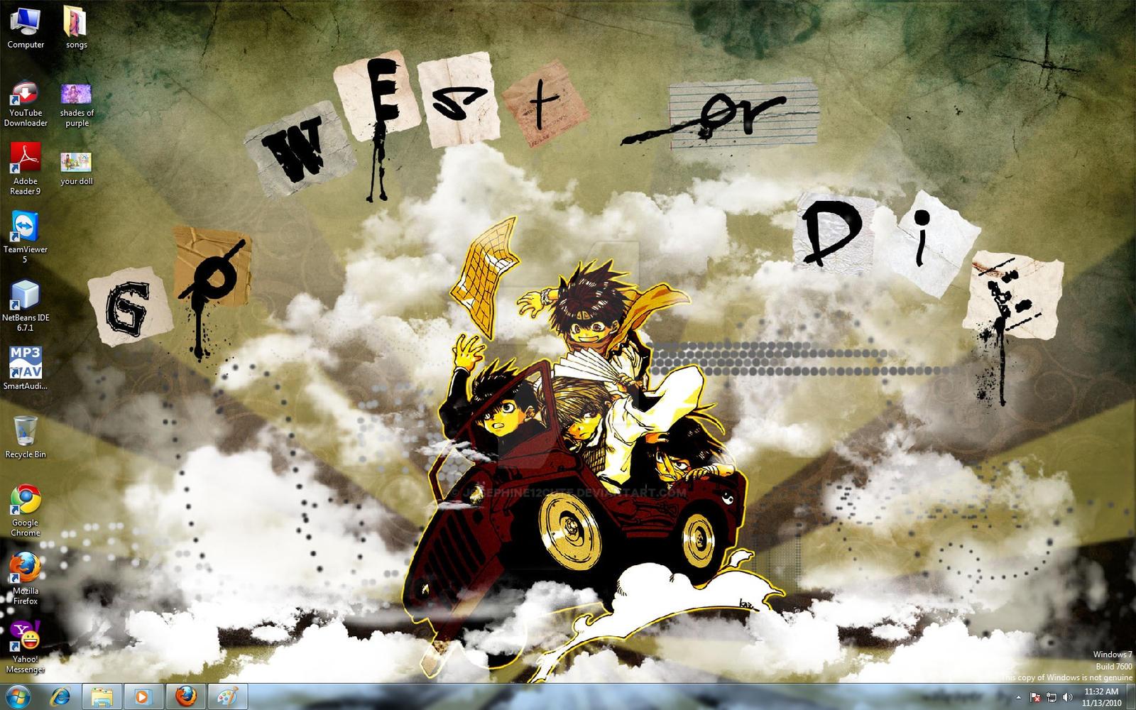 go west or die by josephine12cute