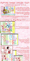 Putting Images Inside Text by josephine12cute