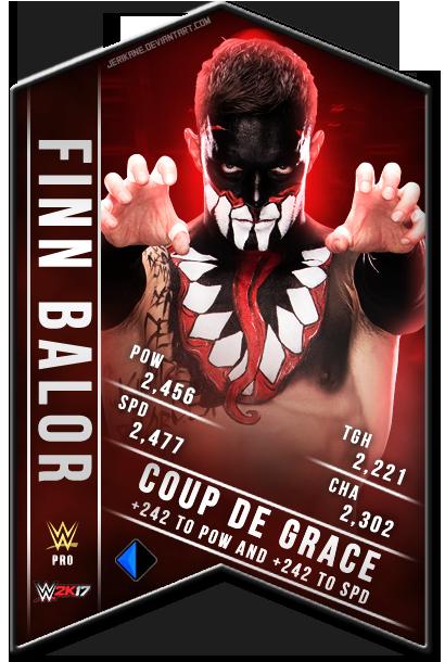 Finn Balor WWE 2K17 SuperCard by JeriKane on DeviantArt