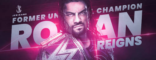 Roman Reigns Universal Champion Signature by JeriKane