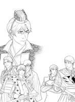 Legend Of The Sengoku Heroes by sthanheykel