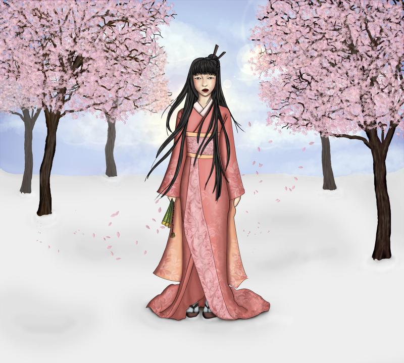 Flowery Winter by Ametystical