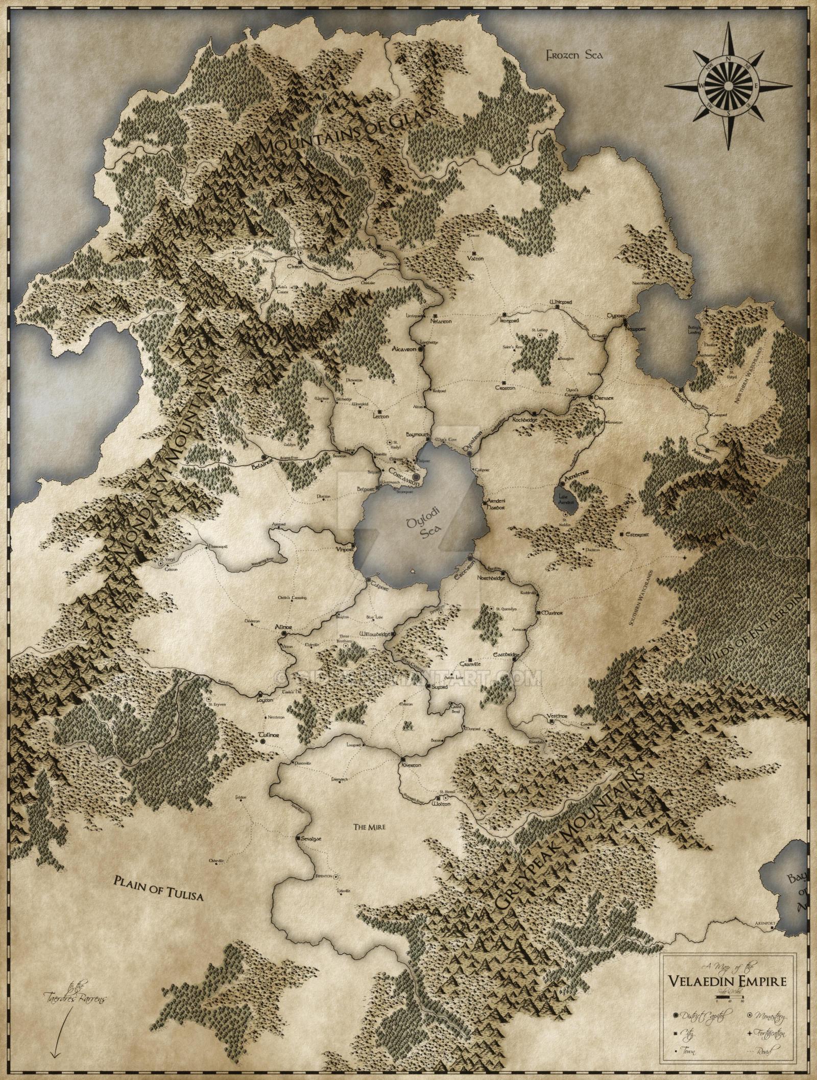 The Velaedin Empire by Gidde