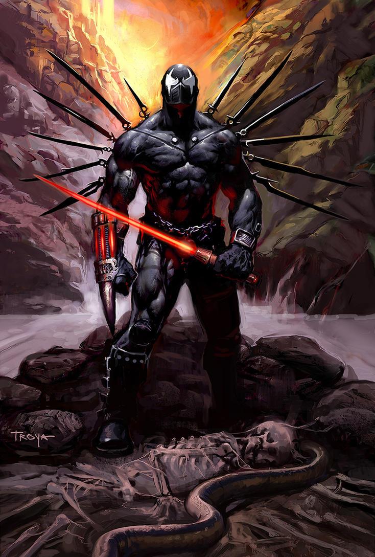 Grendel Prime by troya3000