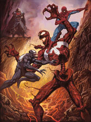 Venom and Spider-Man vs. Carnage and Knull
