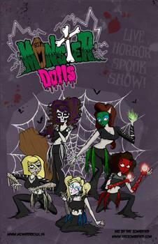 Monster Dolls Poster Art