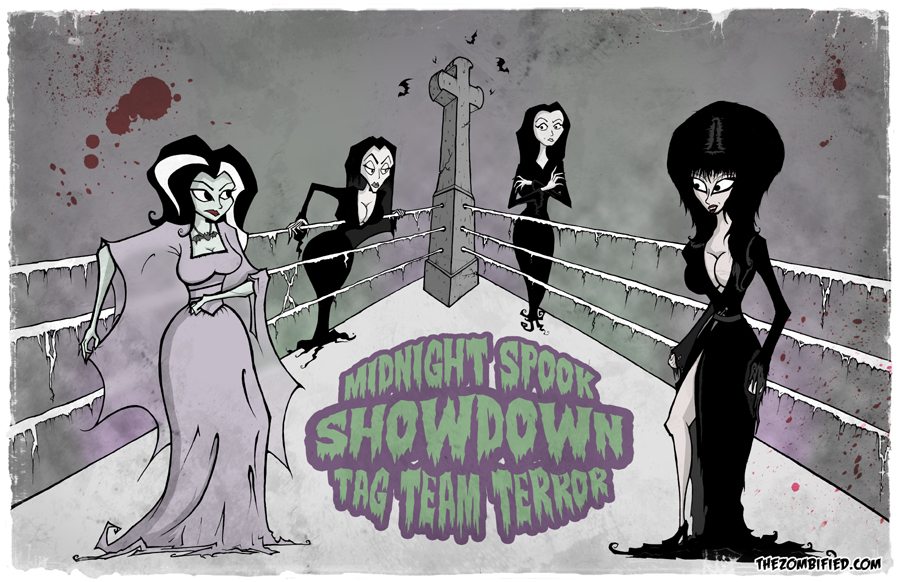Midnight Spookshowdown: Tag Team Terror! by thezombified