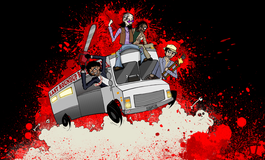 Rollin' Grill A Go Go by thezombified