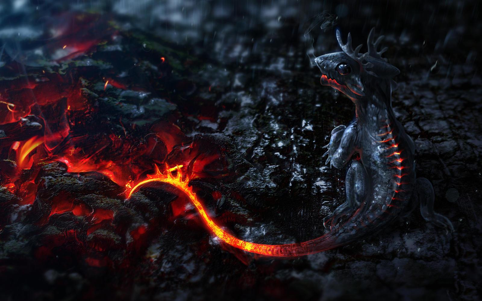 Daro, der Feuer Drache by jekkt0508