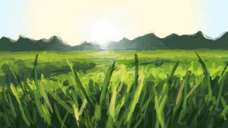 Grass Study (2017/06/28)