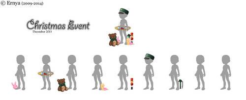 Christmas Event 2013 breakdown
