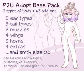 P2U Adopt Base Pack